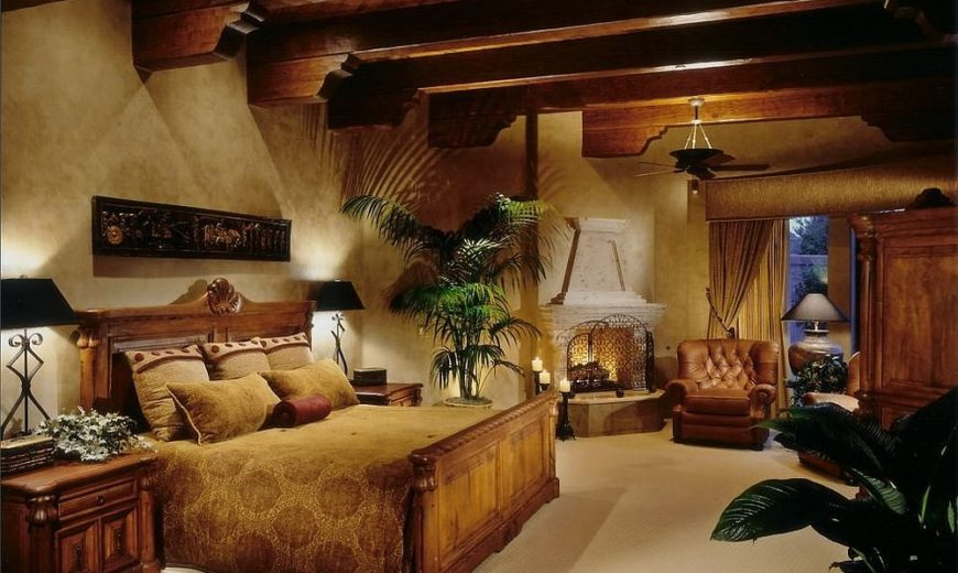 Ceiling Design Trends: 20 Bedrooms with Ceiling Beams that Make a Bold Statement