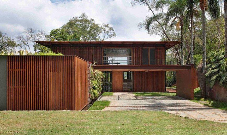 Turning It Inside Out: Amazing Brazilian Home Invites Landscape Indoors!