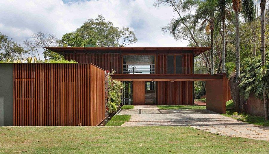 Turning It Inside Out: Amazing Brazilian Home Invites Landscape Indoors!