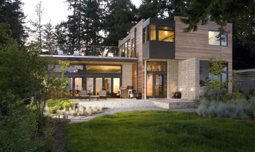 Award-Winning Sustainable Design In Stunning Washington State Residence