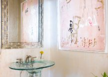 Pink-classy-wall-art-for-the-bathroom-with-cream-walls-217x155