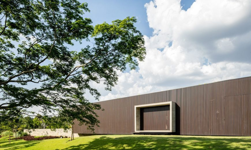 Tunnel House: Brutalist Design Meets Green Contemporary Charm at this Brazilian Home