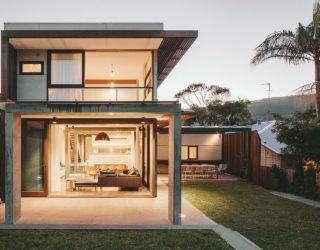 Concrete, Timber and Metal Home Down Under Wows with Inventive Design