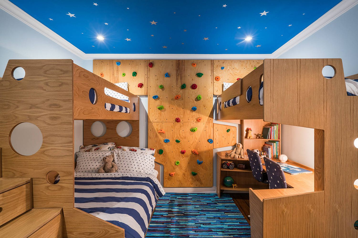 Picture of: Creative Climbing Walls For The Kids Rooms A More Active Home Interior