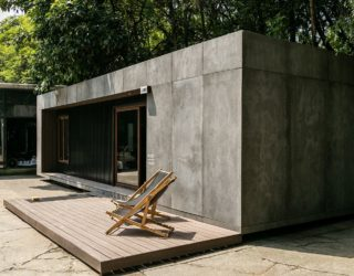 Working With Less: Eco-Sensitive and Cost-Effective Prefabricated Minimal Home