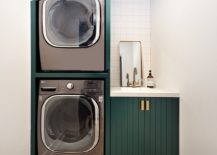Touch-of-dark-green-brings-brigtness-to-the-small-laundry-in-white-217x155