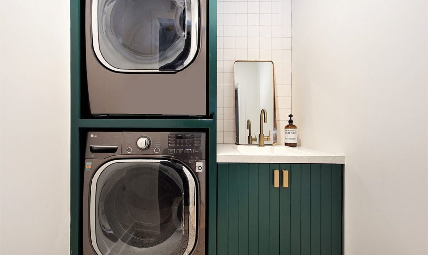 Perfect Small Laundry Room: Space-Savvy and Stylish Designs that Offer Functionality