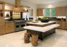Tree-stumps-turned-into-dashing-bar-stools-in-the-contemporary-kitchen-217x155