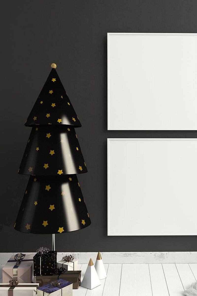 Black Is The New Festive Black Christmas Trees Steal The Spotlight