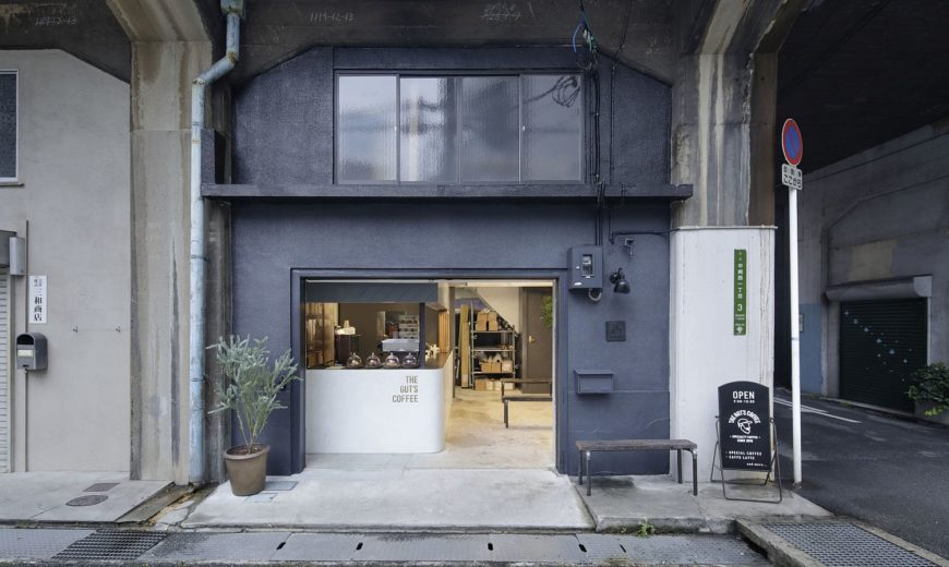 This Beautiful Japanese Coffee Shop Sits Inside a Revamped Industrial Warehouse