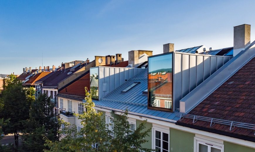 Old Loft in Oslo from the 20's Turned into Beautiful Modern Apartments