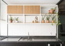 Wall-in-white-tiles-with-greenery-and-small-shelving-in-the-kitchen-217x155