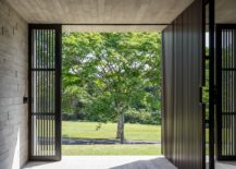 Wood-and-metal-interior-of-the-modern-home-in-Brazil-217x155