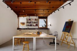 Modern Home Offices with Concrete Floors that Last the Test of Time