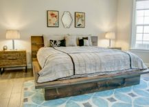 Wooden-platform-bed-for-the-modern-rustic-bedroom-that-keeps-things-minimal-217x155