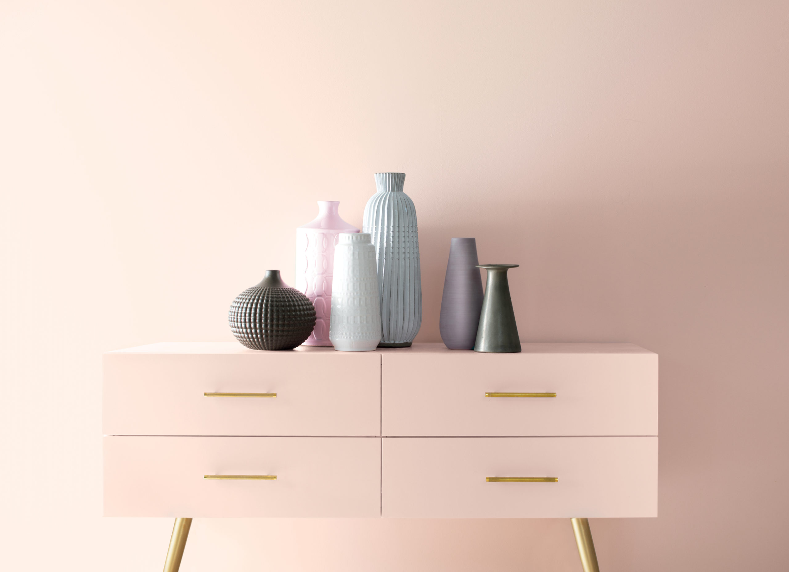 Benjamin Moore's First Light creates a soft palette and backdrop