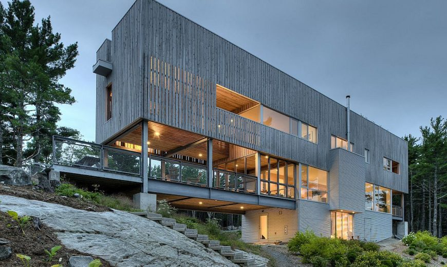 Bridge House: Sea Views on All Sides Await at This Stunning Contemporary Escape