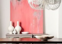 Classy-way-to-add-pink-to-the-glam-contemporary-dining-room-217x155