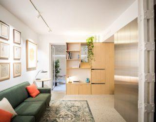 Dark Basement Units Turned into Ultra-Tiny, Space-Savvy Apartments