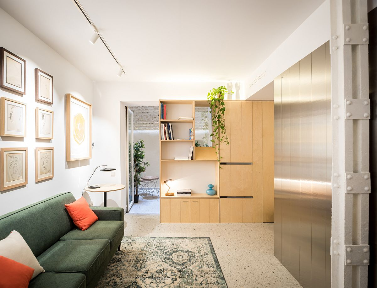 Dark Basement Units Turned into Ultra-Tiny, Space-Savvy Apartments