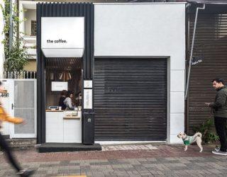 Japanese Minimalism and Smart Functionality Shape Ultra-Tiny Coffee Shop
