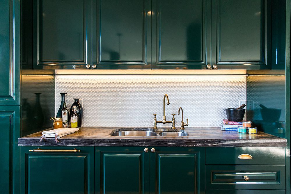 Dark Green Kitchens 20 Gorgeous Ideas For Those Who Love An Overload Of Green