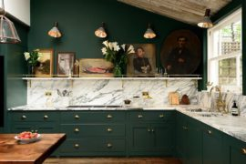 Dark Green Kitchens: 20 Gorgeous Ideas for those who Love an Overload of Green!
