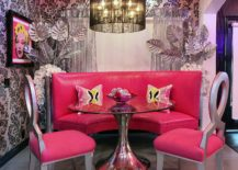 It-is-ceiling-that-ushers-pink-into-the-unique-dining-room-that-also-fetaures-Breast-Cancer-Awarness-Chairs-217x155