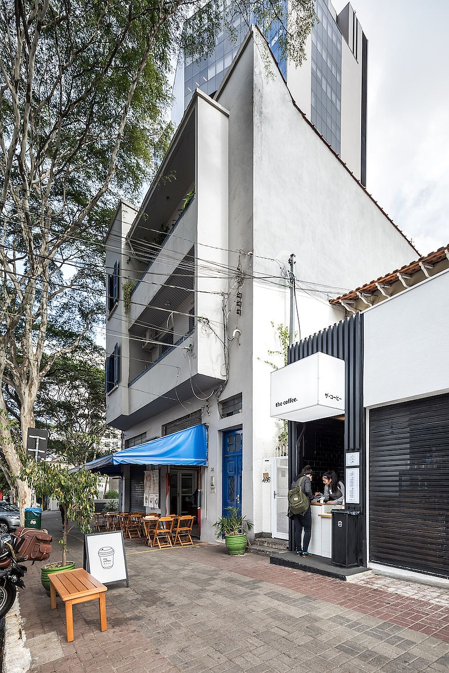 Japanese minimalism coupled with modern ergonomic design in Brazil