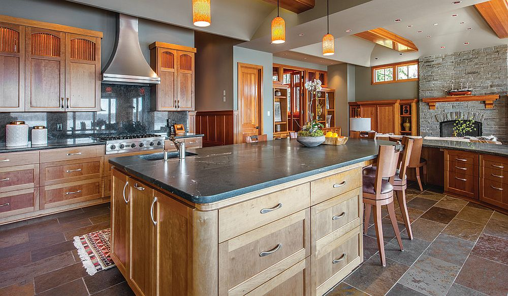 Modern-rustic-kitchen-with-an-island-that-has-ample-cabinets-and-drawers-providing-multiple-storage-options