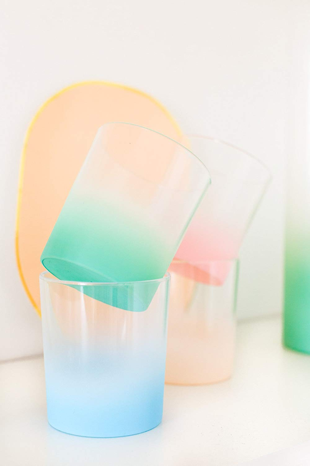 Ombre cups from Sugar & Cloth