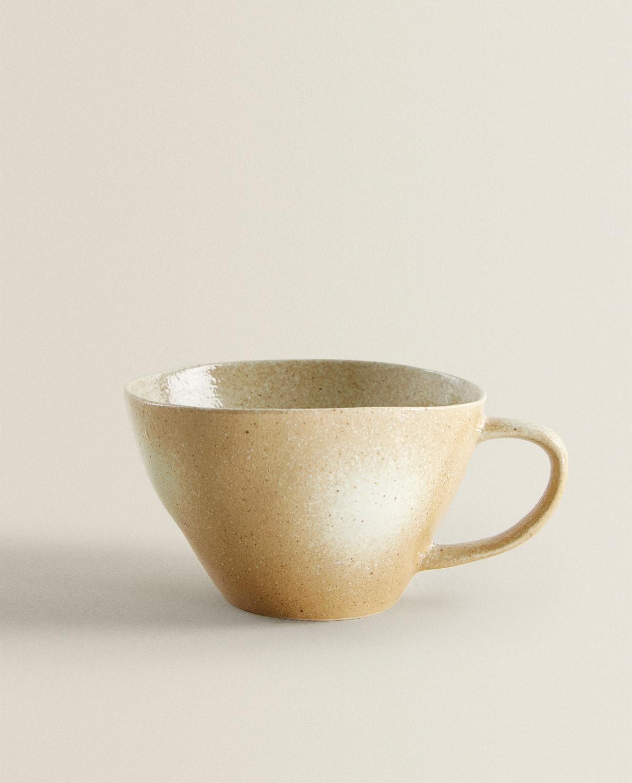 Ombre mug in creamy tones