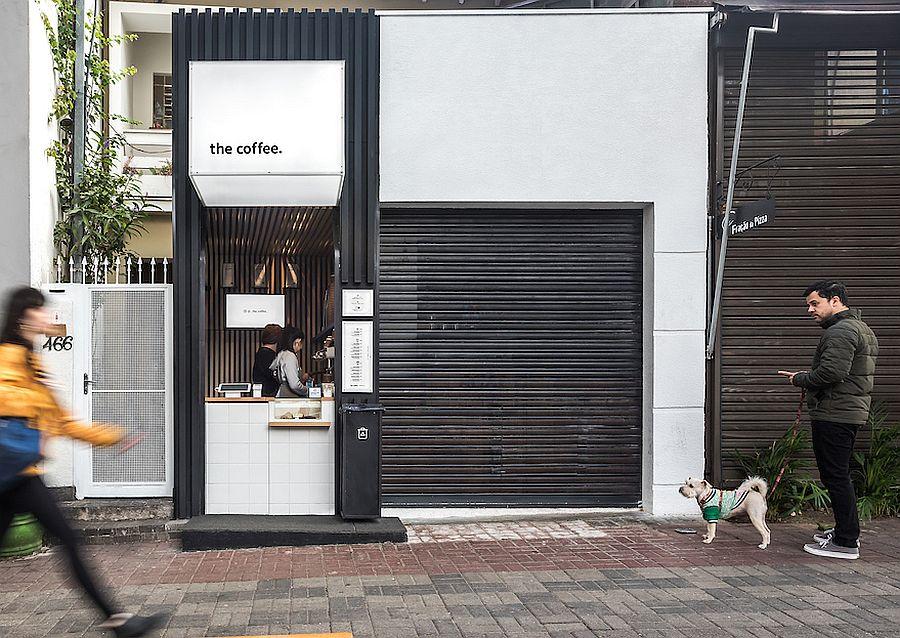 Pinheiros Coffee designed by Studio Boscardin.Corsi Arquitetura in Brazil