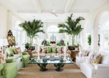 Prints-and-pops-of-color-bring-brightness-to-the-white-tropical-style-living-room-217x155