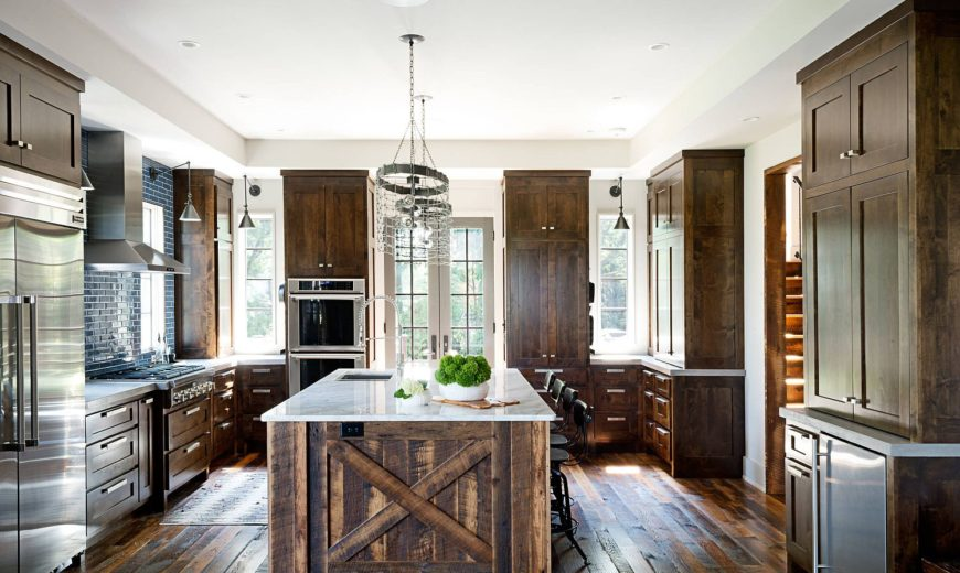 Trendy Kitchen Makeovers: 20 Wood Islands that Blend Warmth with Functionality