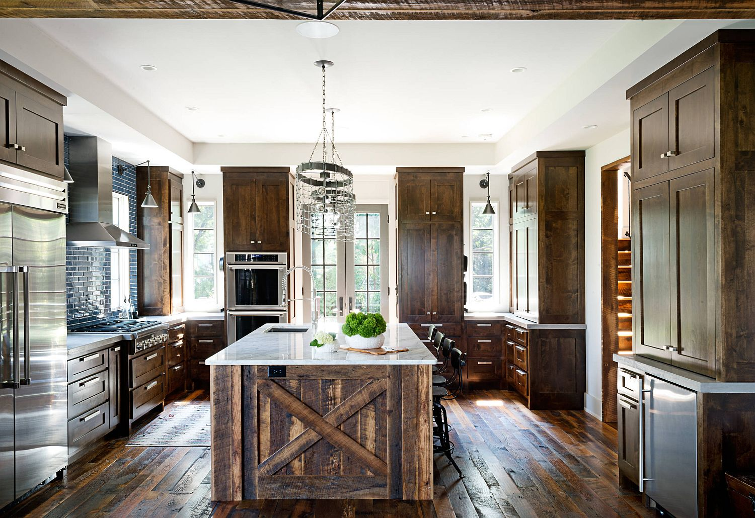 kitchen islands wood trendy kitchen makeovers 20 wood islands that blend warmth with functionality 6492
