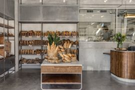 Teller Bakery and Pastry Factory Blends Modernity with Industrial Ease