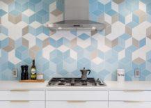 Striking-hexagonal-wall-tiles-with-3D-pattern-create-a-lovely-kitchen-backsplash-217x155
