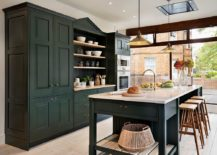 Traditional-kitchen-with-dark-cabinets-and-ample-naural-light-217x155