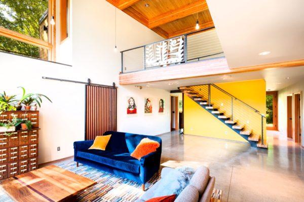 Musician House interior