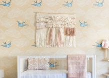 A-popular-wallpaper-choice-with-bird-print-for-the-smart-modern-nursery-97688-217x155