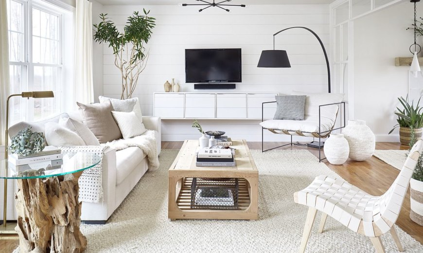 Small White Living Rooms Make A, How To Decorate A Small Living Room