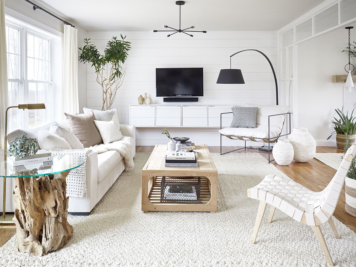 Small White Living Rooms Make a Statement: 3 Gorgeous Ideas and Tips