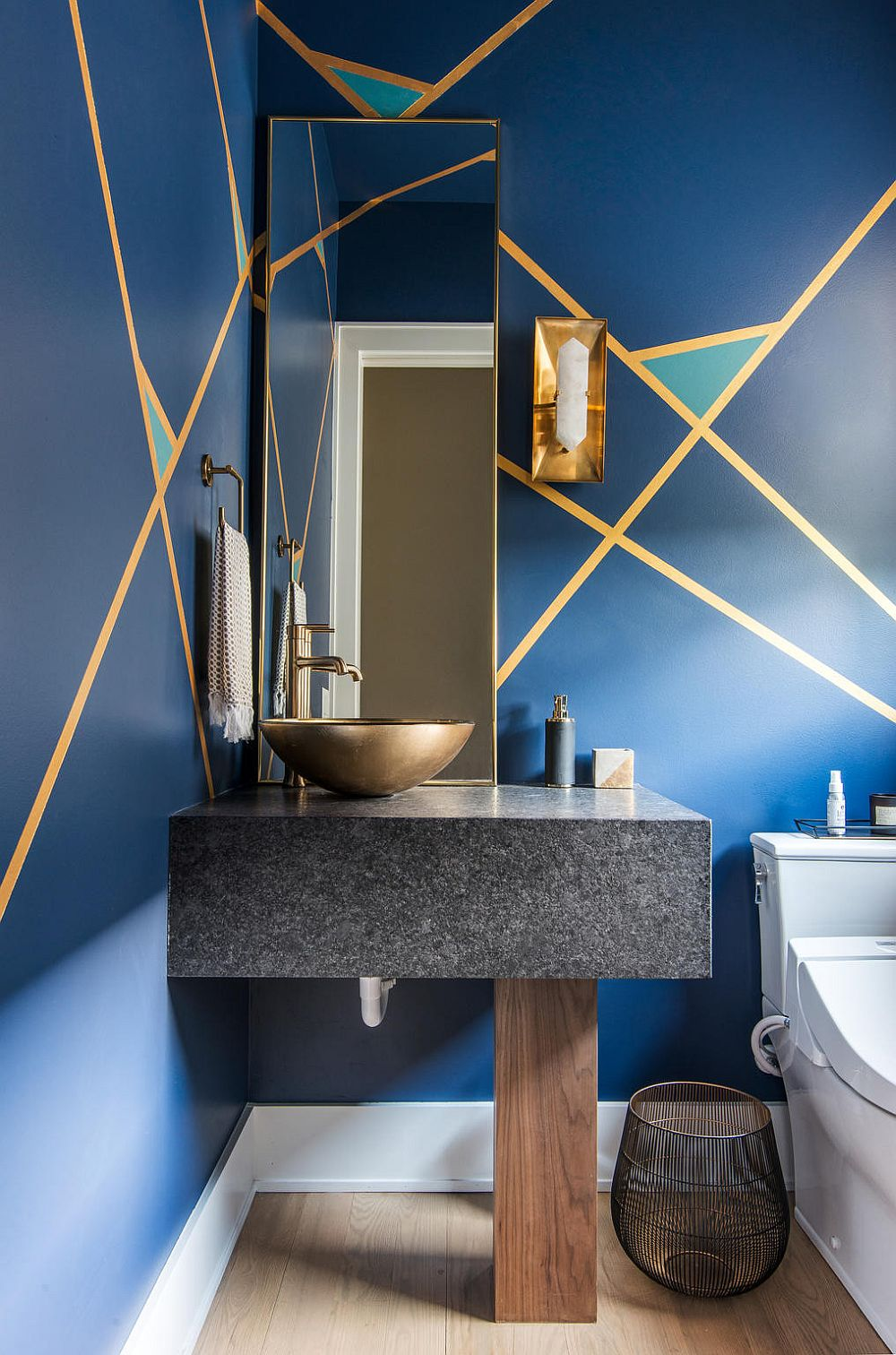 Bold Color Trending In The Powder Room 20 Fab Ideas Inspirations
