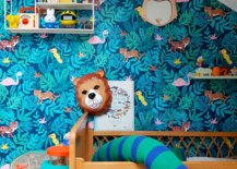 Colorful-wallpaper-in-dark-blue-with-animal-motifs-for-the-dashing-nursery-in-Paris-home-53724-217x155