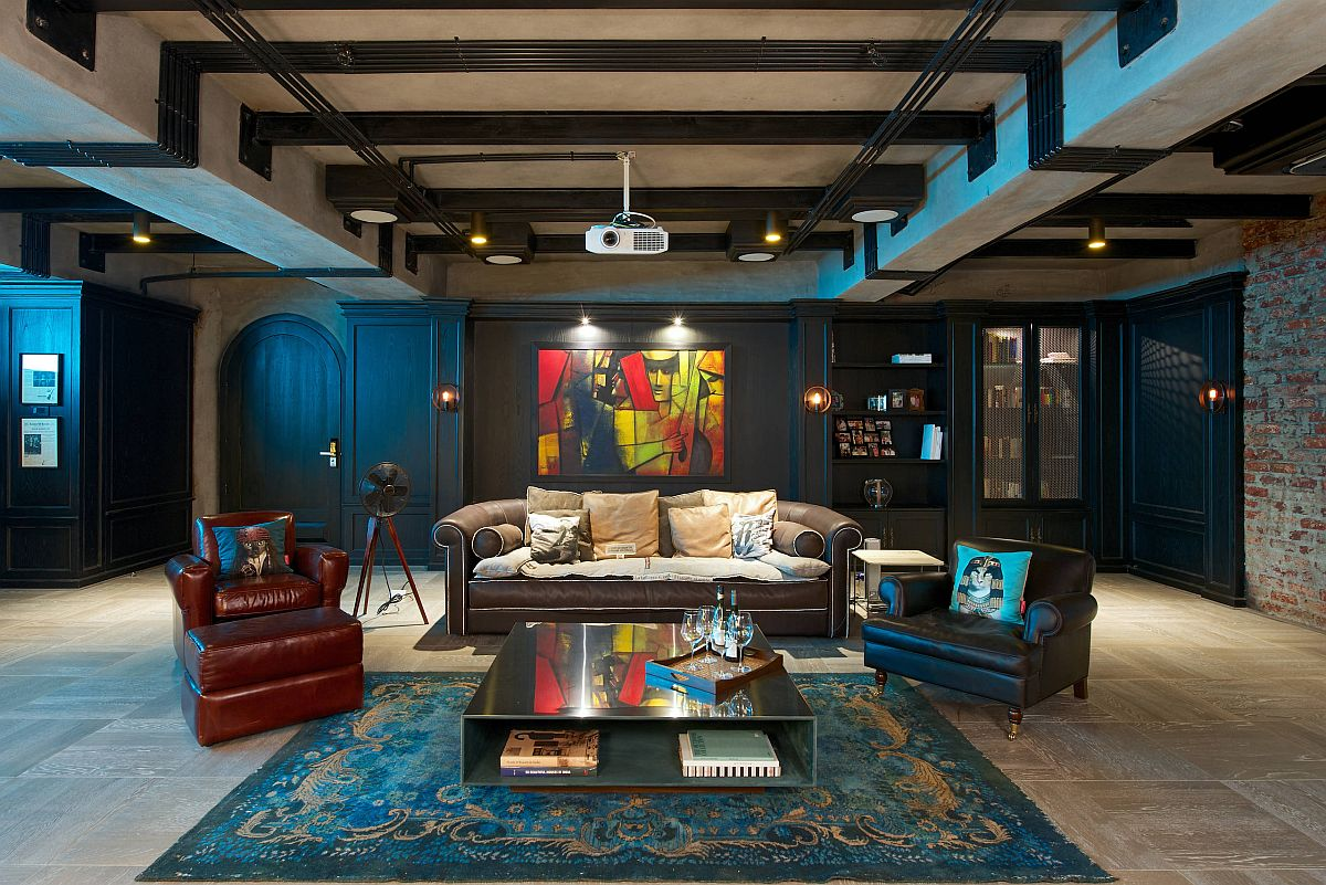Create your own perfect home theater depending on available space and eclectic appeal you wish to create