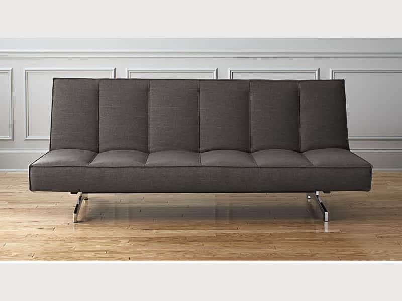 Dark grey sofa bed from CB2
