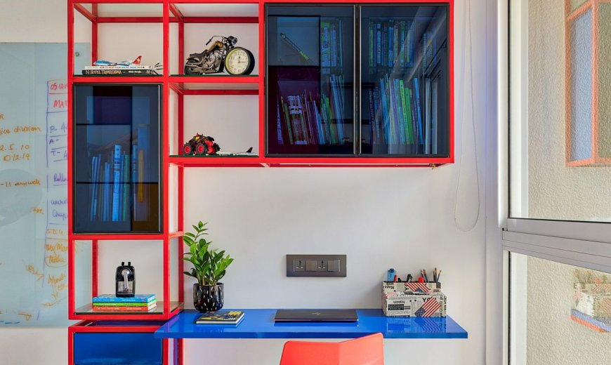 Enliven Your Home Office with these Gorgeous Colorful Workstations Ideas