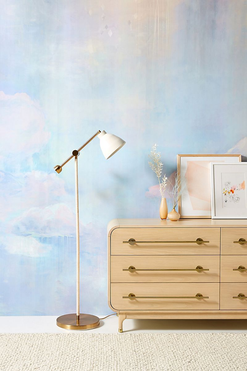 Dreamy wall mural from Anthropologie
