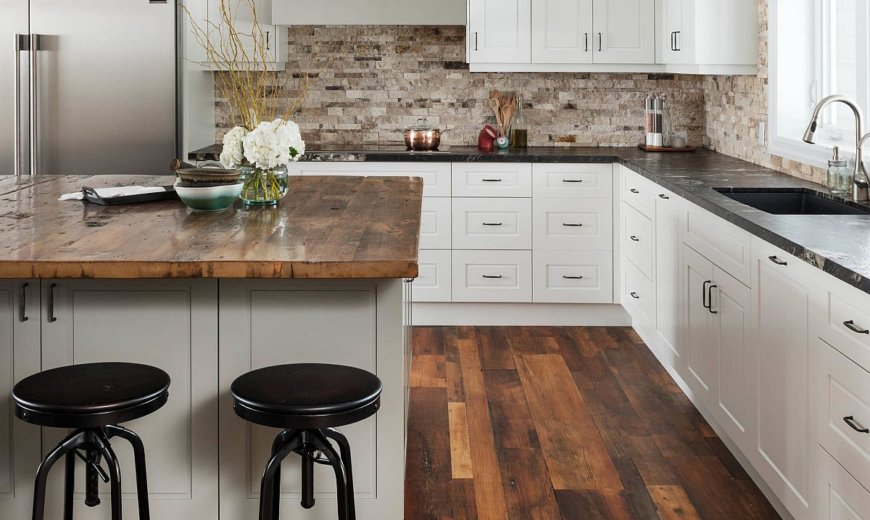 Hottest Trending Kitchen Floor for 2020: Wood Floors Take Over Kitchens Everywhere!